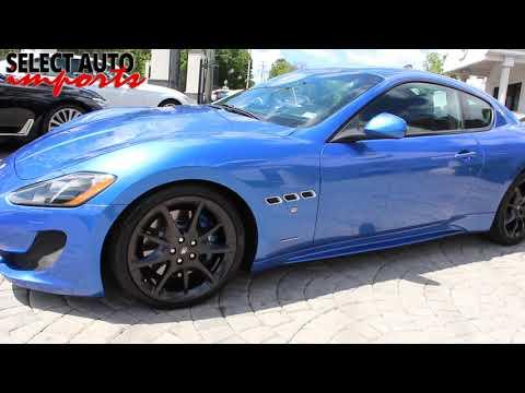 2014 Maserati Granturismo Sport Coupe, Blue, Select Auto Imports in Alexandria, VA #20060
