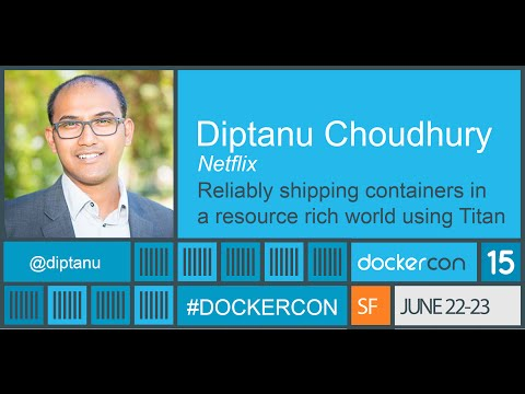 Reliably shipping containers in a resource rich world using Titan