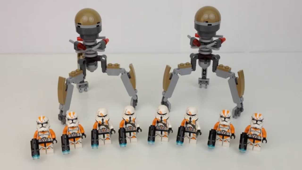 Lego Star Wars Utapau Troopers battle pack 75036 - YouTube