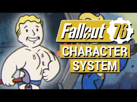 FALLOUT 76: Character System, Leveling Up, and S.P.E.C.I.A.L. in Fallout 76 EXPLAINED!!
