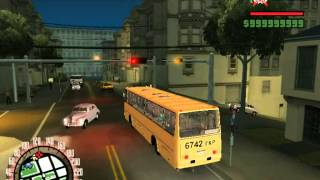 Bus simulator in GTA Soviet Union
