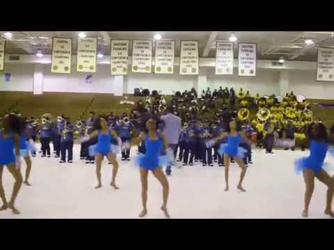 Bertie High School Falcon Regiment - 2015 Spirit Mix at the Kinston High School Band Brawl