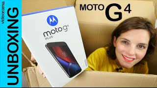 Moto G4 Plus unboxing en español | 4K UHD Video