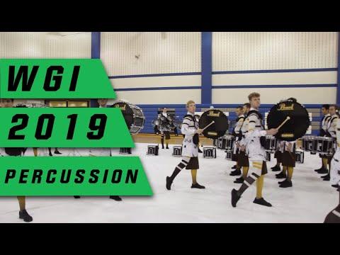 Rhythm X 2019 Drumline: WGI Indianapolis