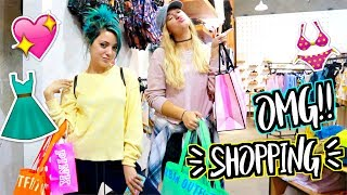SUMMER SHOPPING SPREE W/ NIKI!! AlishaMarieVlogs