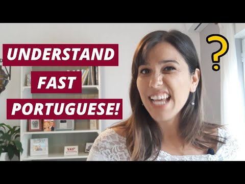 European Portuguese - Understand FAST Portuguese with These Tips!
