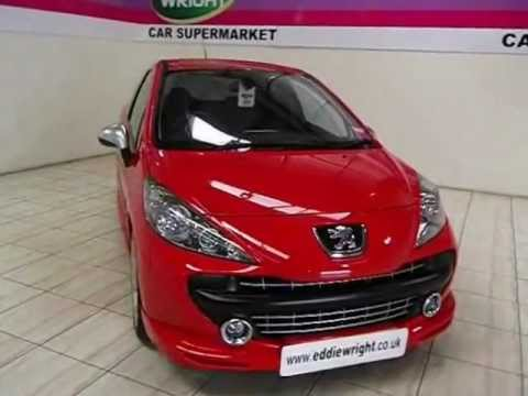 peugeot 207 exterior interior tour of a 07 plate 207 1 6 thp 175 bhp gti pack 3 door youtube. Black Bedroom Furniture Sets. Home Design Ideas