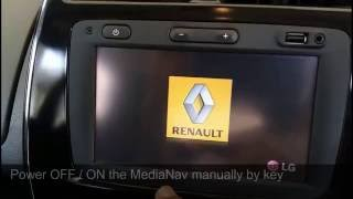 Activate Rear camera view and Rear Speaker in MediaNav-Kwid 4.0.6-Full with guide