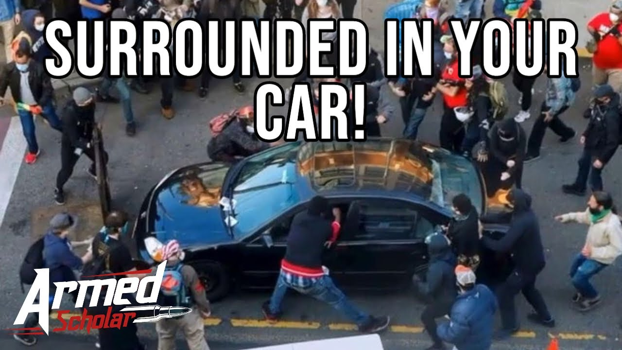WHAT CAN YOU DO IF RIOTERS ATTACK YOUR CAR?