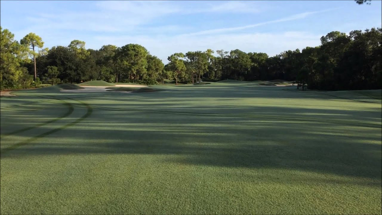 Pine Golf Course Update 9.9.15 - YouTube