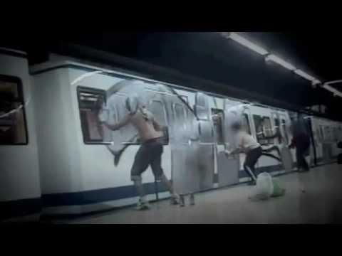 graffiti on a train youtube meet