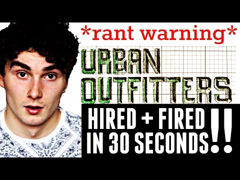 Urban Outfitters Job Interview 2015 || Hired + Fired in 30 S