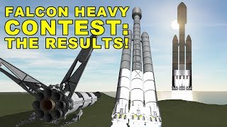 Falcon Heavy Contest: The Results - YOUR SpaceX rockets in Kerbal Space Program