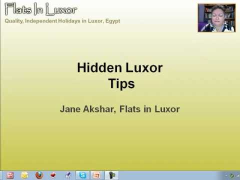 Hidden Luxor Shops, Restaurants, Accommodation Culture Tips
