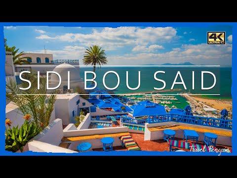 TUNISIA ● Sidi Bou Said [2019] | 👉CINEMATIC 4k📷