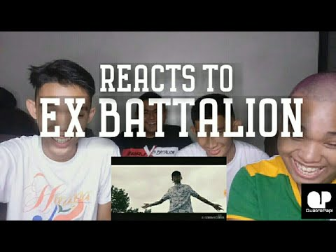 Ex Battalion - Ikaw Kase Official Music Video REACTION | Quatro Papi