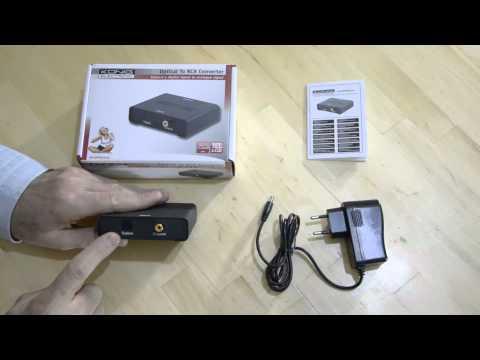 Convertir un signal audio numérique spdif optique ou coaxial en analogique stéréo ?