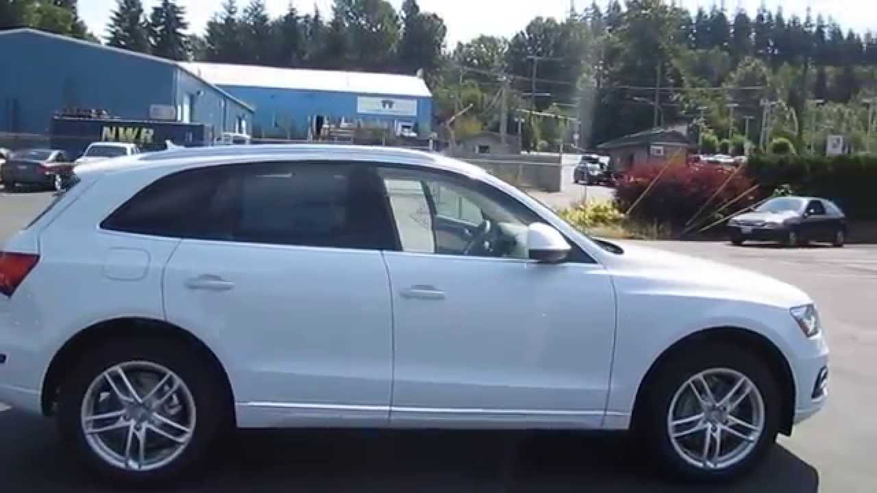 2015 Audi Q5 Ibis White Stock 110018 Walk Around