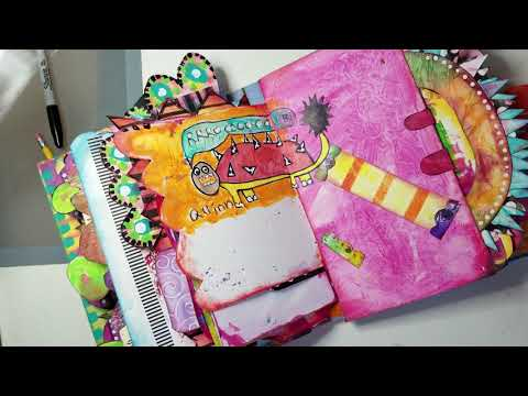 Journal With Me In My Whimsical Junk Art Journal