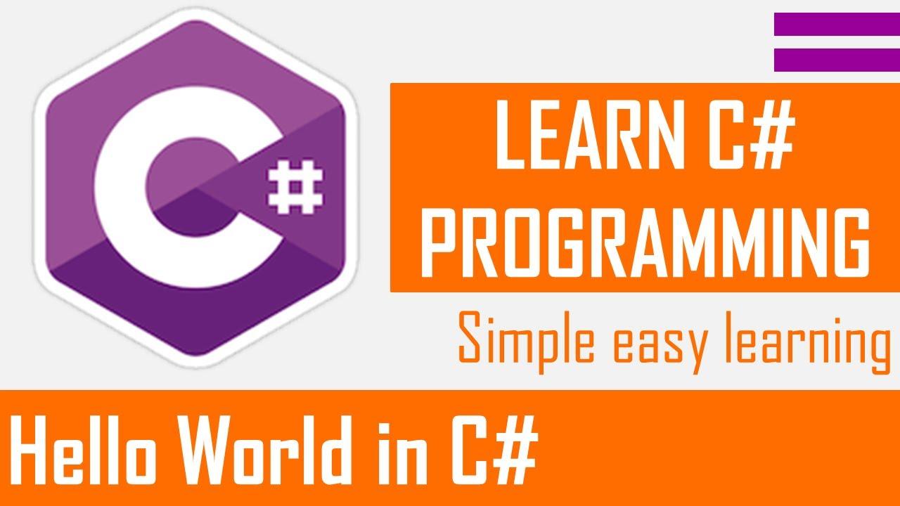 Hello World in C# [Bangla]