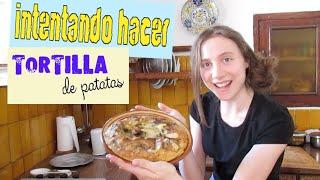 Chica rusa VS cocina española: TORTILLA DE PATATAS