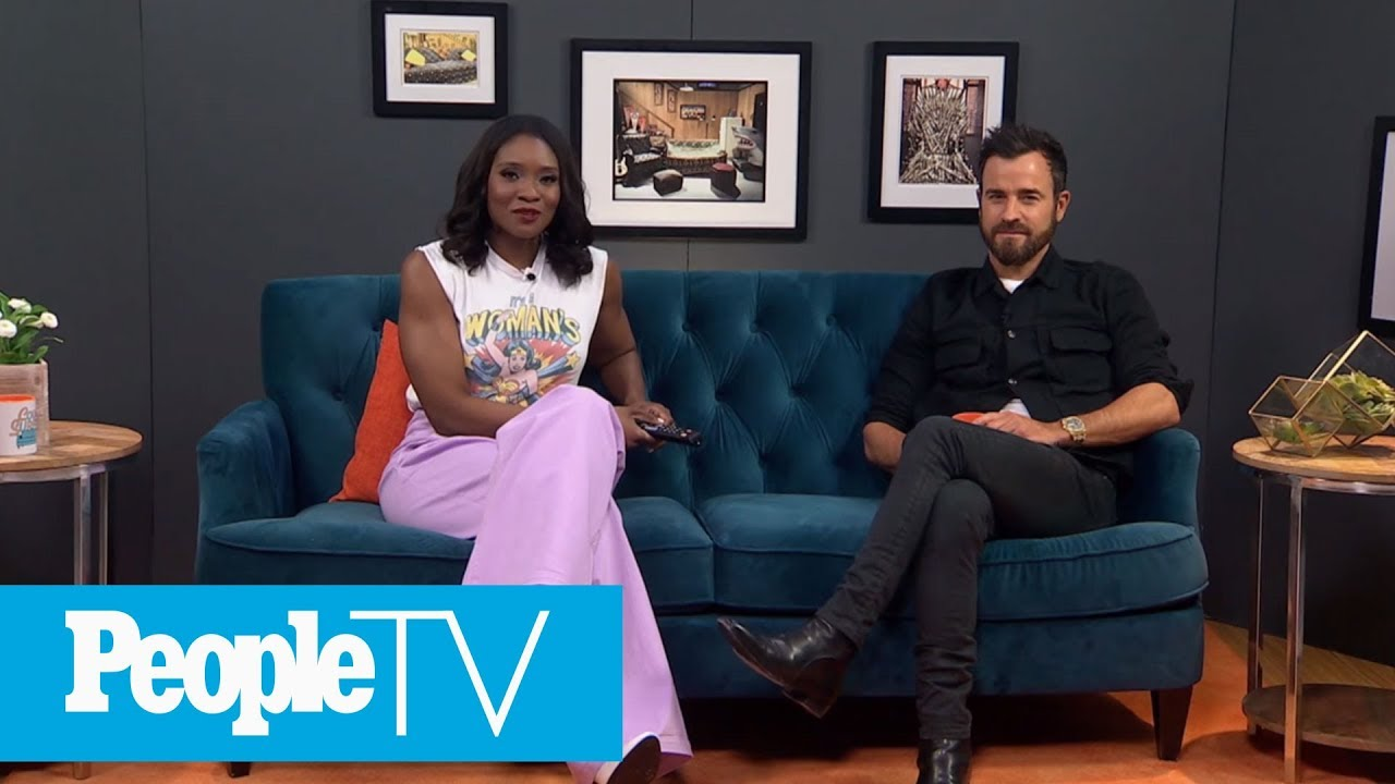 Justin Theroux Breaks Down What It Was Like Playing 'Latin Lover Jesus' In 'The Ten' | PeopleTV