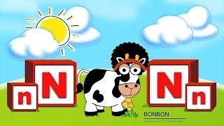 """Bonbon ile """"N"""" Sesini Öğreniyoruz - İnteraktif"""