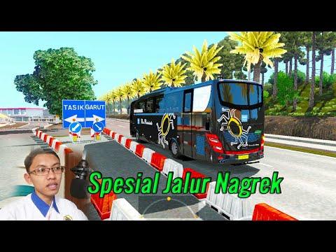 Ngeblong Di Map Parahnyangan New    Ets2 Busmod Indonesia