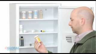 Medicine Cabinet with Pull Out Shelf
