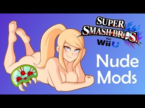 Sm4sh Nude Mods - Naked Zero Suit Samus Showcase! (18+) [1080p 60fps]