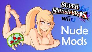 Sm4sh Nude Mods - Naked Zero Suit Samus Showcase! (18+) [1080p 60fps]