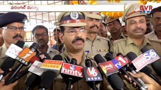 Warangal CP Vishwanath Ravinder Arranged 50 Cctv Cameras in Warangal Town   CVR News