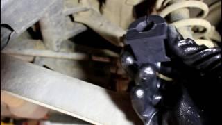 Mitsubishi ASX  Мицубиси АСХ 1,8 2013 года Замена втулок заднего стабилизатора
