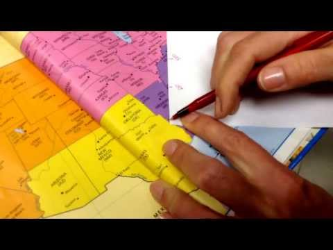 Using Map Scale to Calculate Distance - YouTube