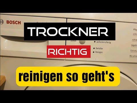 Bosch®Wärmepumpen Trockner Reinigen Für Anfänger