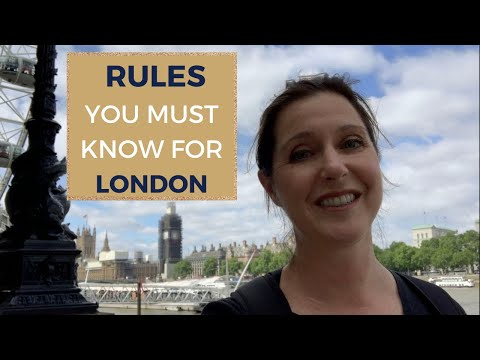 RULES FOR LONDON – TRAVEL TIPS FOR AMERICANS VISITING LONDON