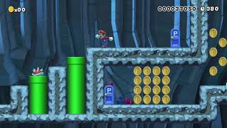 A Normal Level! =D Finally 1-3 by Viicky_09 - Super Mario Maker - No Commentary