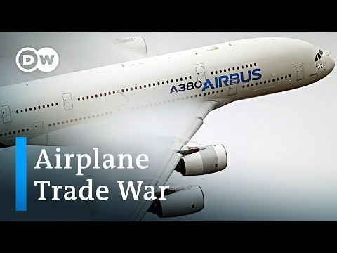 US-EU trade dispute heats up over Boeing and Airbus subsidies | Dw News
