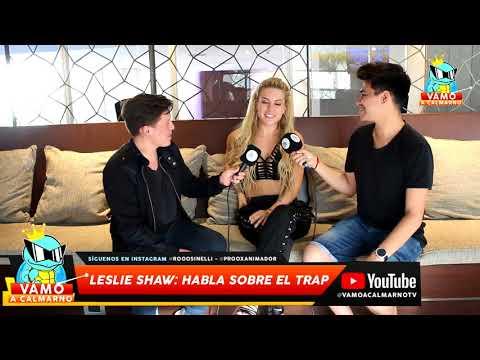 Leslie Shaw: Ser artista independiente es muy difícil entrevista Chile 2017