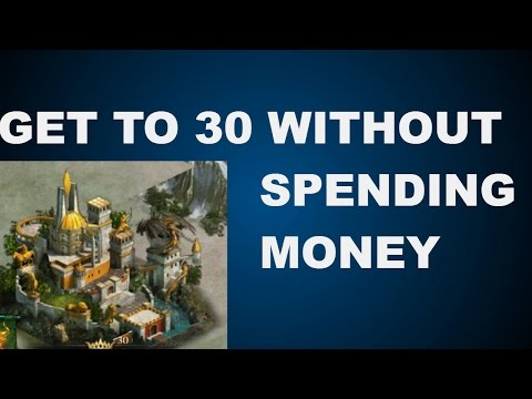 HOW TO GET CASTLE 30 WITHOUT SPENDING $ (CLASH OF KINGS TIPS AND TRICKS)