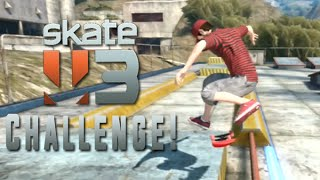HARDEST CHALLENGE EVER (Skate 3 Challenge!)