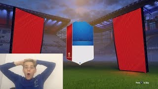 AMAZING FIFA 18 WORLD CUP PACK OPENING!