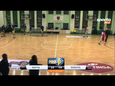 "SportoTV.lt: Klaipėdos ""Nafta-uni-Akvaservis"" - Marijampolės ""Sūduva-Mantinga"""