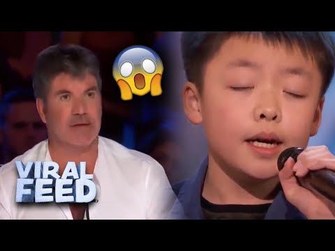 THE BEST AMERICAS GOT TALENT SINGER EVER   VIRAL FEED