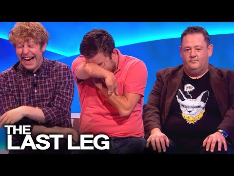 Johnny Vegas Messing With Adam, Alex & Josh   The Last Leg Outtakes