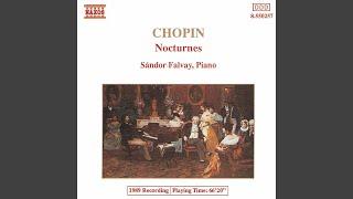 Nocturne No. 1 in B-Flat Major, Op. 9, No. 1