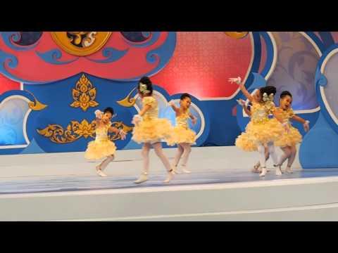 เพลงพ่อรักเจ้าสุดใจ เต้นจินตลีลา 2015 กรพิทักษ์ศึกษา ช่อง 7