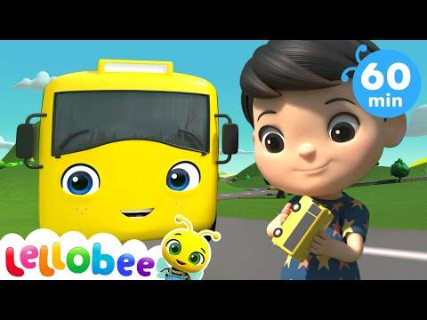 Wheels On The Bus + More Nursery Rhymes \u0026 Kids Songs - Little Baby Bum ABC Kids