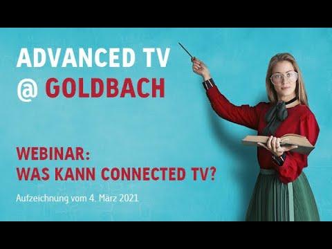 Webinar: Was kann Connected TV?