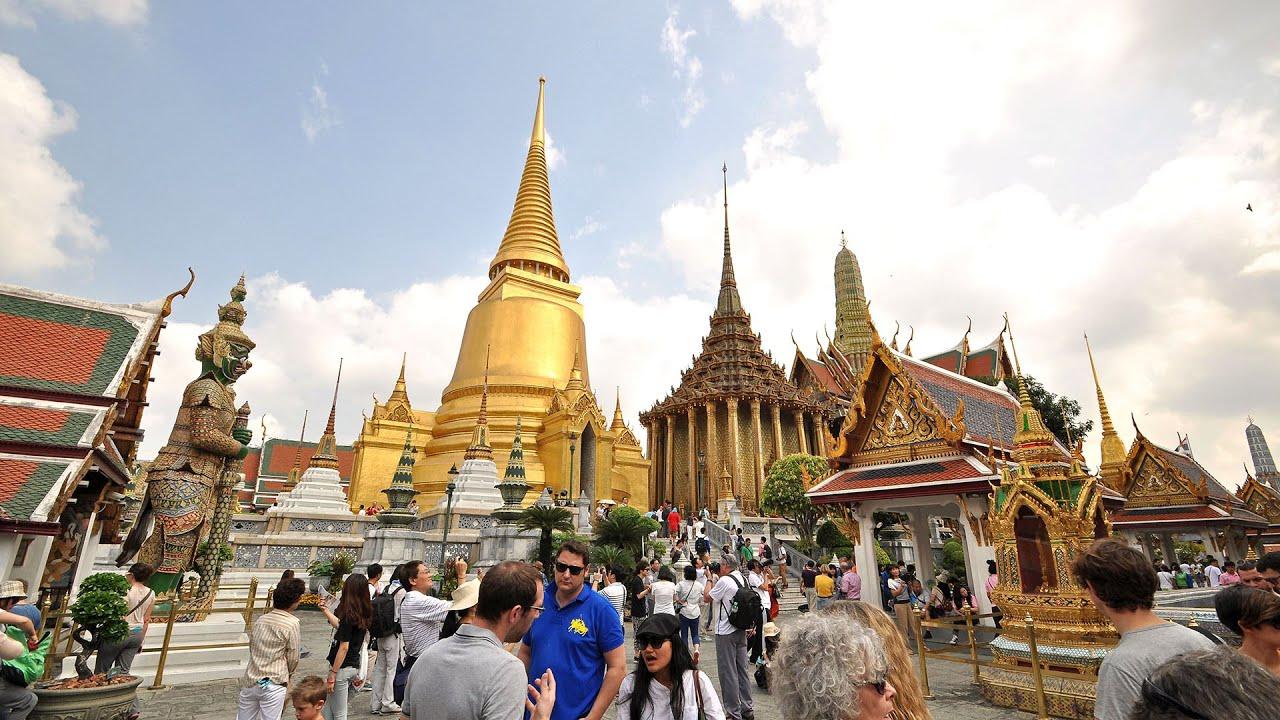 The Grand Palace Bangkok Thailand - YouTube